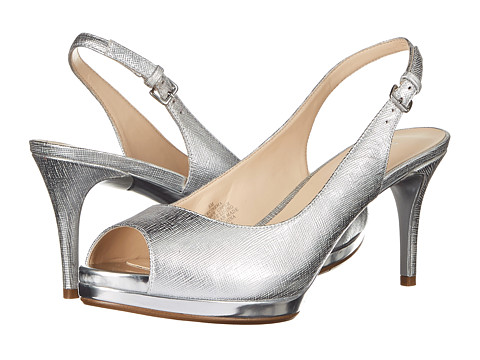 Nine West - Cinema (Silver Metallic) High Heels