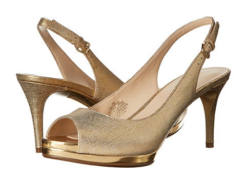 Nine West - Cinema (Gold Metallic) High Heels