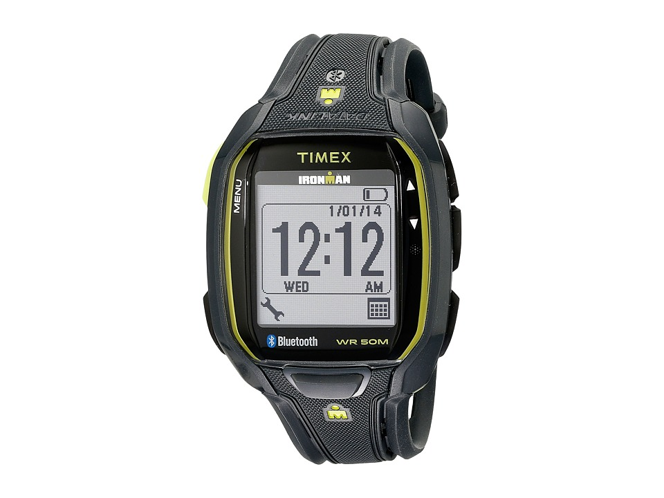 Timex - Ironman Run X50+ Watch (Charcoal/Green) Watches