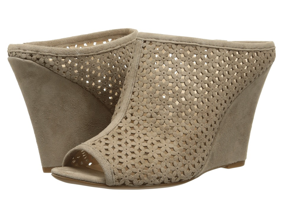 Nine West - Corva (Taupe Suede) Women's Wedge Shoes