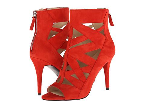 Nine West - Delfina (Red Suede) High Heels