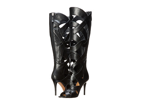 Nine West - Dewy (Black Leather) Women