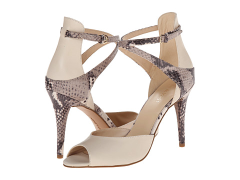 Nine West - Doreen (Off White/Natural Multi Leather) High Heels