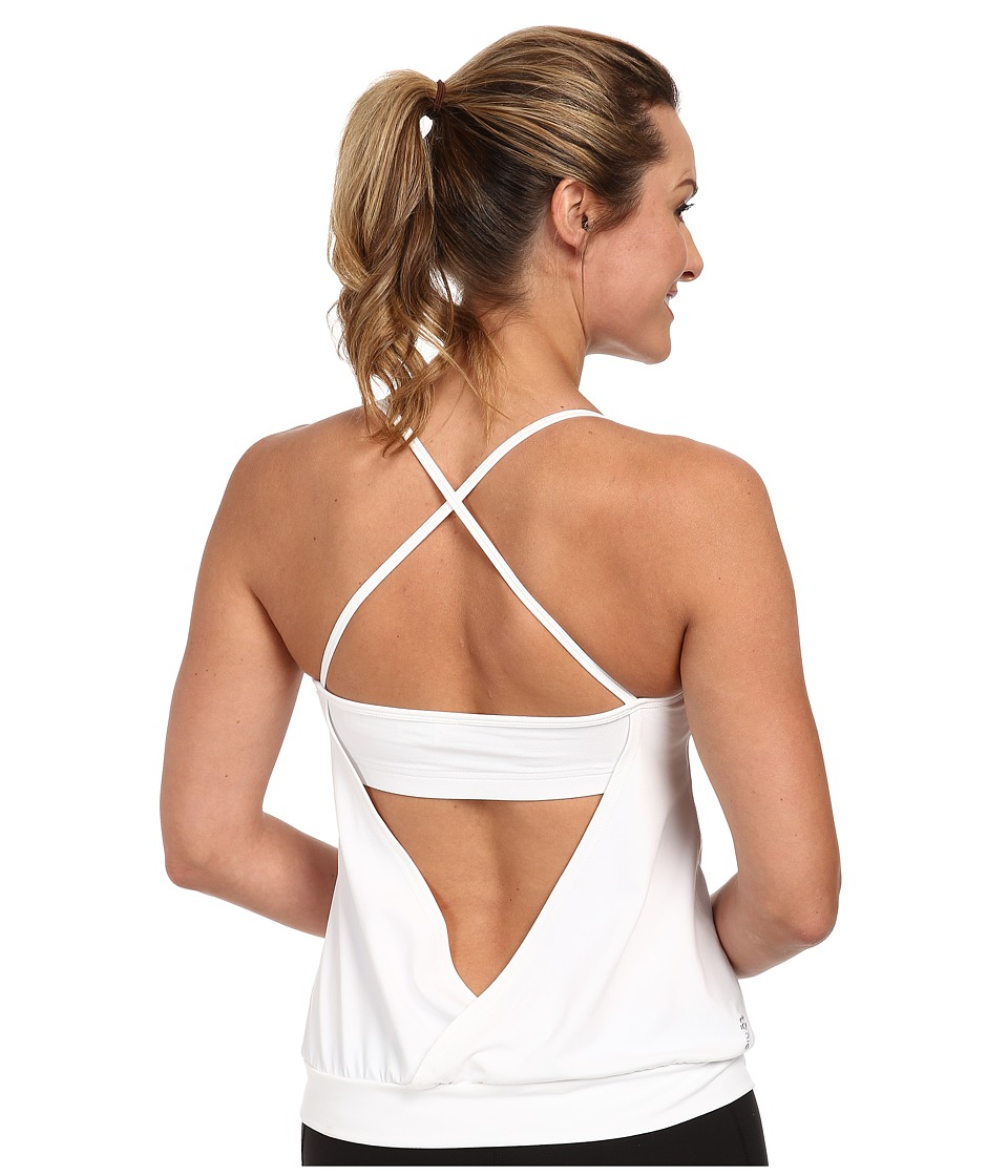 Tonic - Free Spin Tank (White) Women's Sleeveless