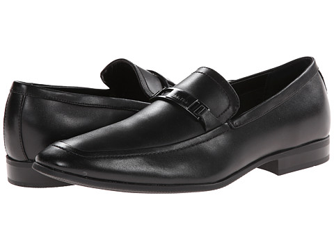 Calvin Klein - Court (Black Leather) Men's Shoes