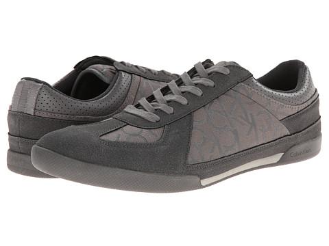 Calvin Klein - Radcliff (Greige Jacquard) Men's Lace up casual Shoes