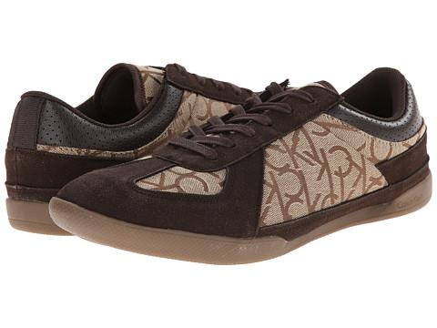 Calvin Klein - Radcliff (Khaki Jacquard) Men's Lace up casual Shoes
