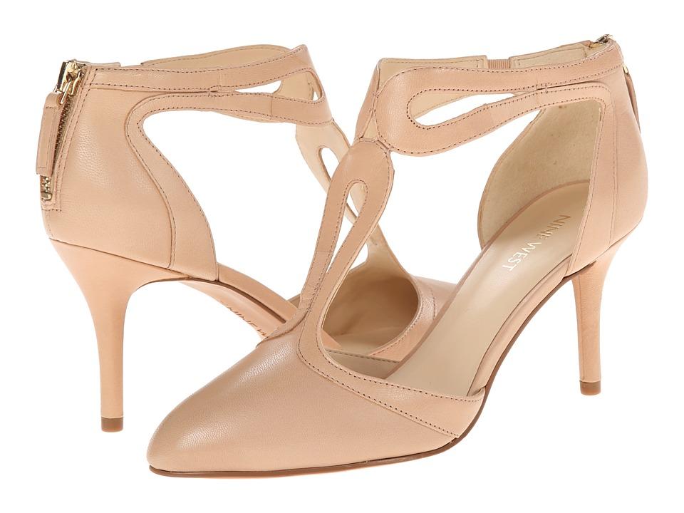 Nine West - Endearing (Natural Leather) High Heels