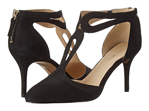 Nine West - Endearing (Black Nubuck) High Heels