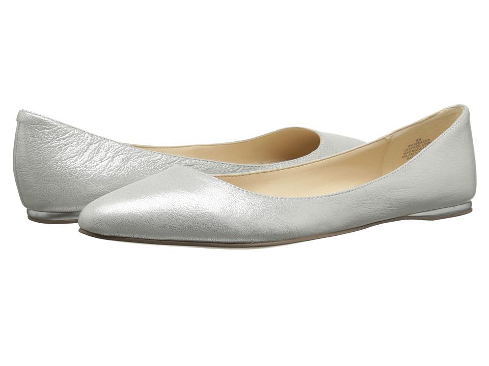 Nine West - SpeakUp (Medium Silver Metallic) Women's Dress Flat Shoes