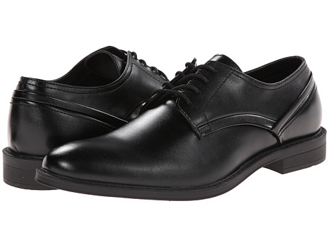 Calvin Klein - Gio Dress (Black Leather) Men's Shoes