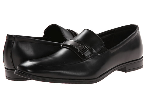 Calvin Klein - Hale (Black Smooth) Men's Shoes