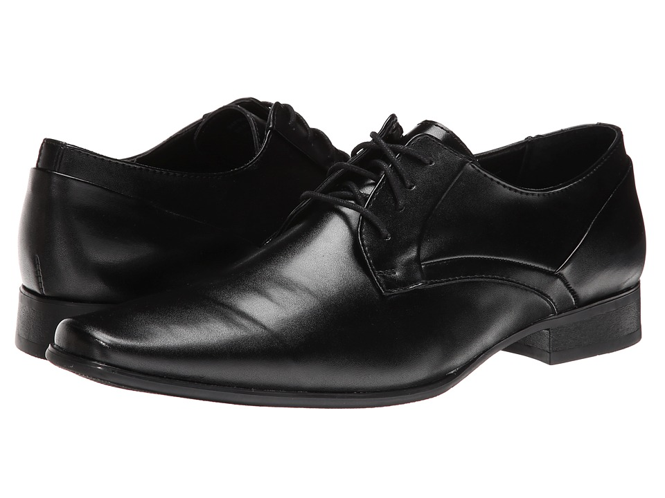 Calvin Klein Benton (Black Smooth) Men's Shoes