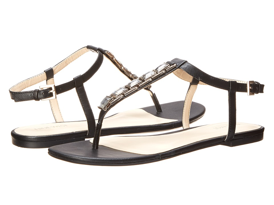 Nine West - Shipout (Black Leather) Women's Sandals