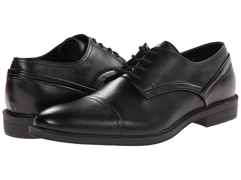 Mens Shoes Calvin Klein Gaston Dress Black Leather