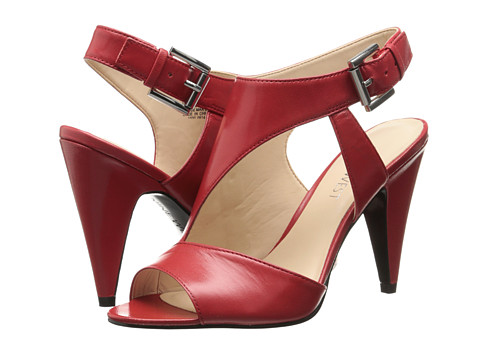 Nine West - Shapeup (Red Leather) High Heels
