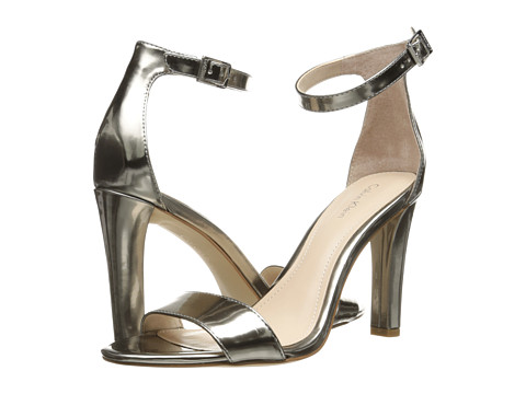 Calvin Klein - Abiba (Pewter Mirror Metallic) High Heels