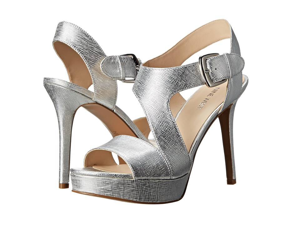 Nine West - Saynomore (Silver Metallic) High Heels
