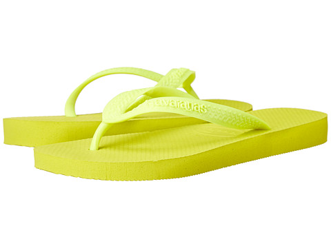 Havaianas - Top Flip Flops (Neon Yellow/Yellow) Women's Sandals