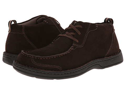 Streetcars - Check (Dark Brown) Men's Lace Up Moc Toe Shoes