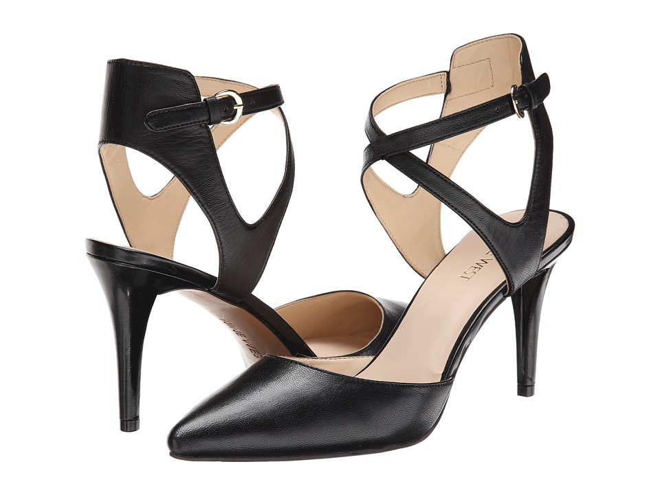Nine West - Paddysday (Black Leather) High Heels