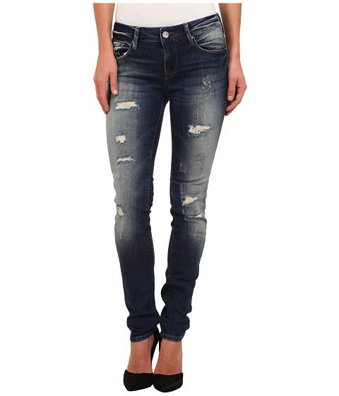 Mavi Jeans - Alexa Jean in Partly Cloudy Artist Vintage (Partly Cloudy Artist Vintage) Women's Jeans