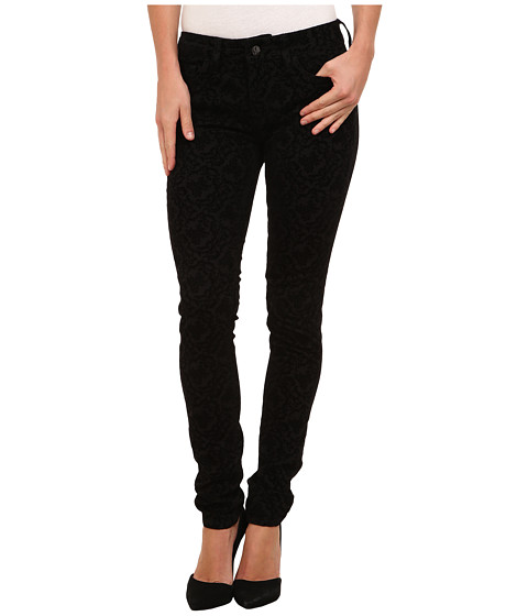 Mavi Jeans - Alexa Jean in Black Paisley Flock (Black Paisley Flock) Women