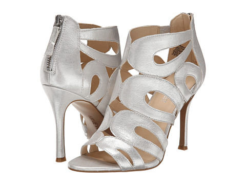Nine West - Flora (Silver Metallic) High Heels