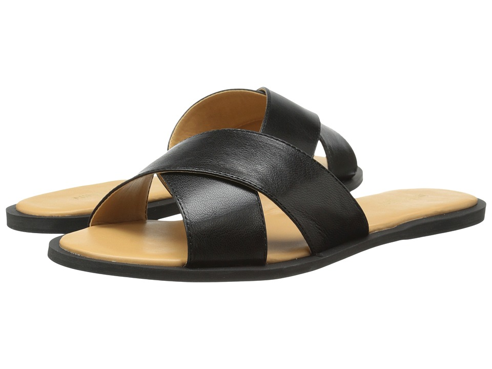 Nine West - Norie (Black Leather) Women's Sandals