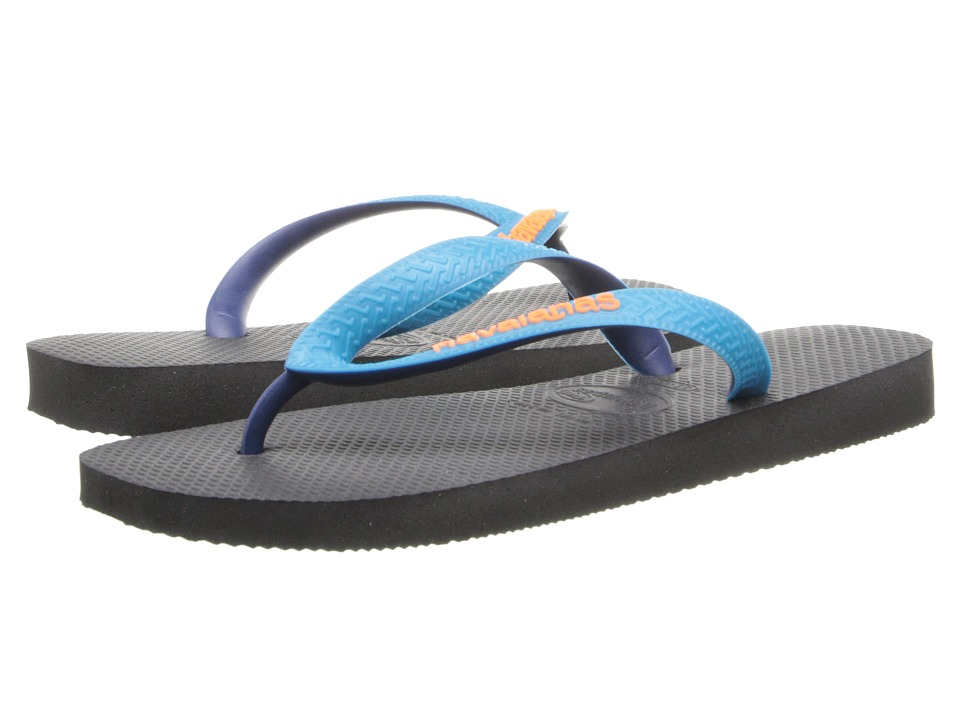 Havaianas - Top Mix Flip Flops (Black/Capri) Women's Sandals