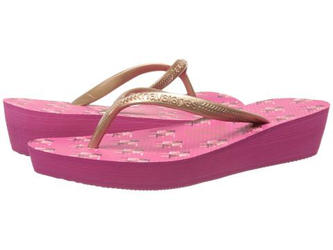 Havaianas - High Light II Flip Flops (Orchid Rose) Women's Sandals