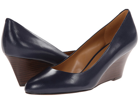 Nine West - Mela (Navy Leather 1) Women