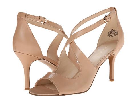Nine West - Gessabel (Medium Natural Leather) High Heels