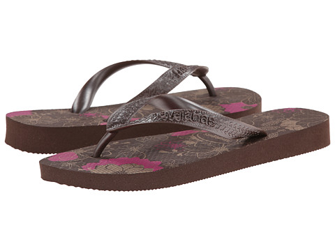Havaianas - Spring Flip Flops (Dark Brown Metallic) Women's Sandals