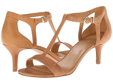 Nine West - Grand (Natural/Natural Leather) High Heels