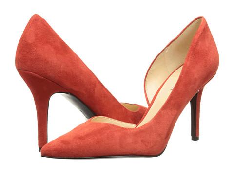 Nine West - Jowzer (Red Suede) High Heels