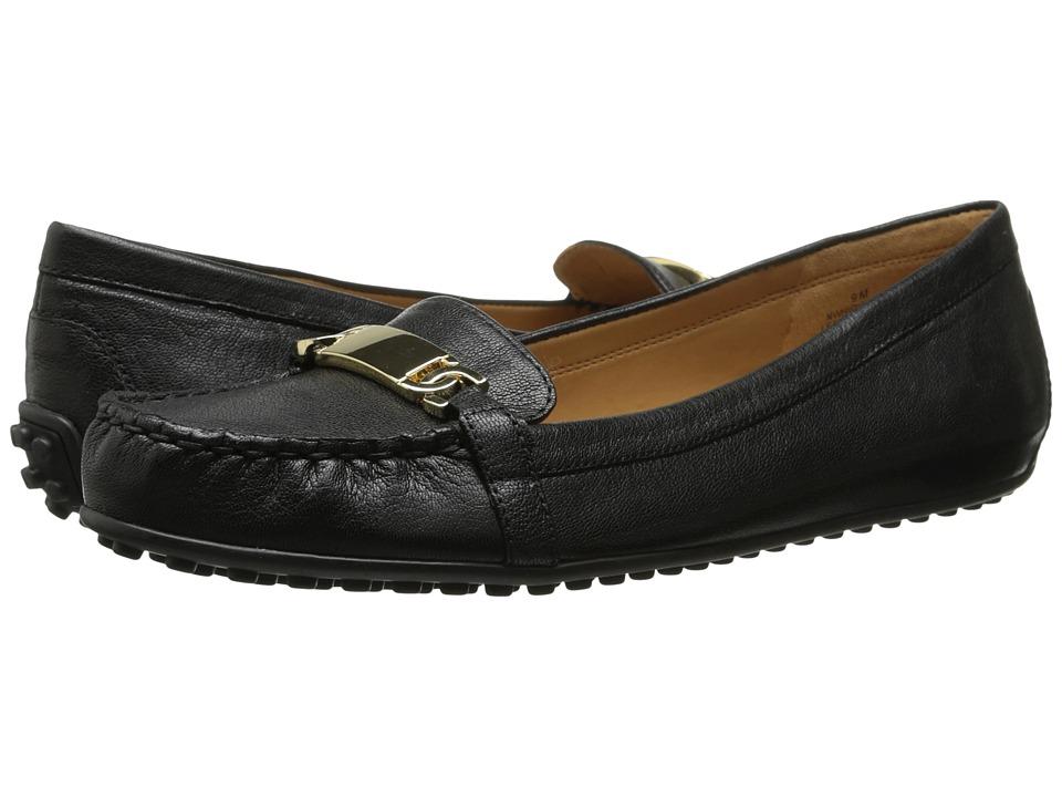 Nine West - Highlight (Black Leather) Women's Slip on Shoes
