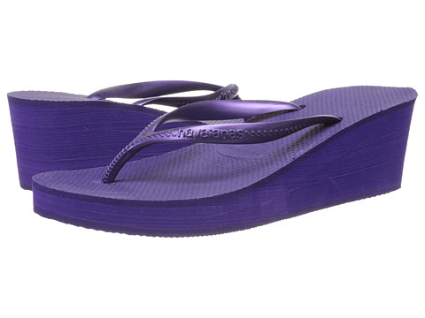 Havaianas - High Fashion Flip Flops (Dark Purple) Women