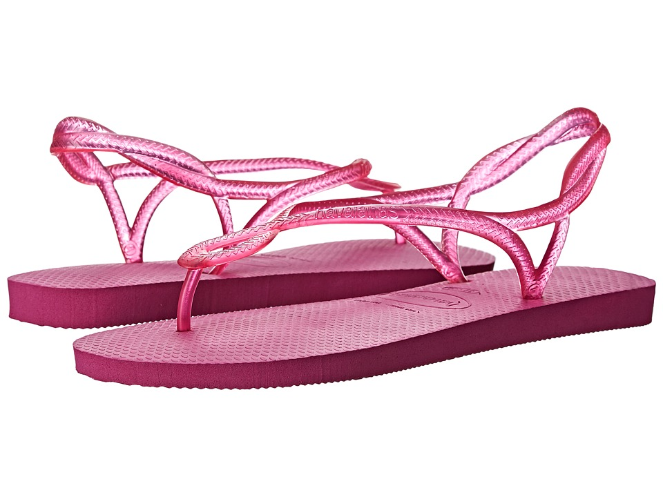 Havaianas - Luna Flip Flops (Rose Gum) Women's Sandals