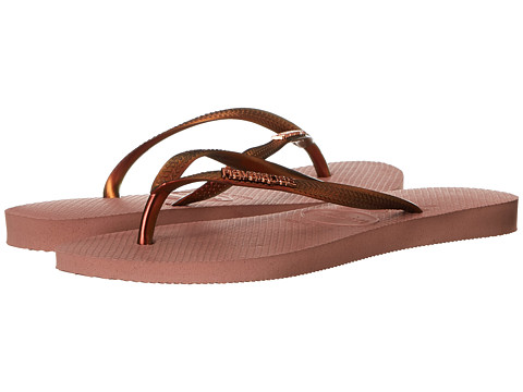 Havaianas - Slim Furta Cor Flip Flops (Crocus Rose) Women's Sandals