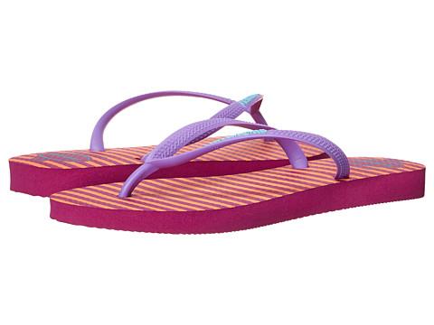 Havaianas - Slim Retro Flip Flops (Rose Gum) Women