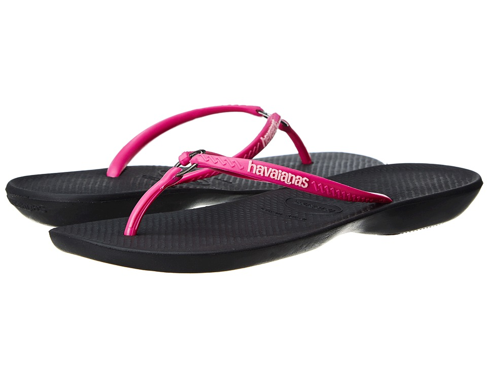 Havaianas - Ring Flip Flops (Black) Women