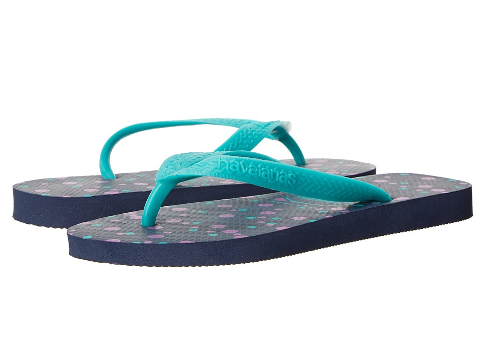 Havaianas - Top Fresh Flip Flops (Navy Blue) Women's Sandals