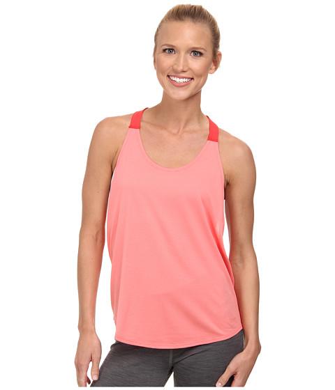 Nike - Dri-FIT Elastika Tank Top (Sunblush/Daring Red/Sunblush) Women