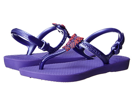 Havaianas Kids - Freedom (Toddler/Little Kid/Big Kid) (Purple) Girls Shoes