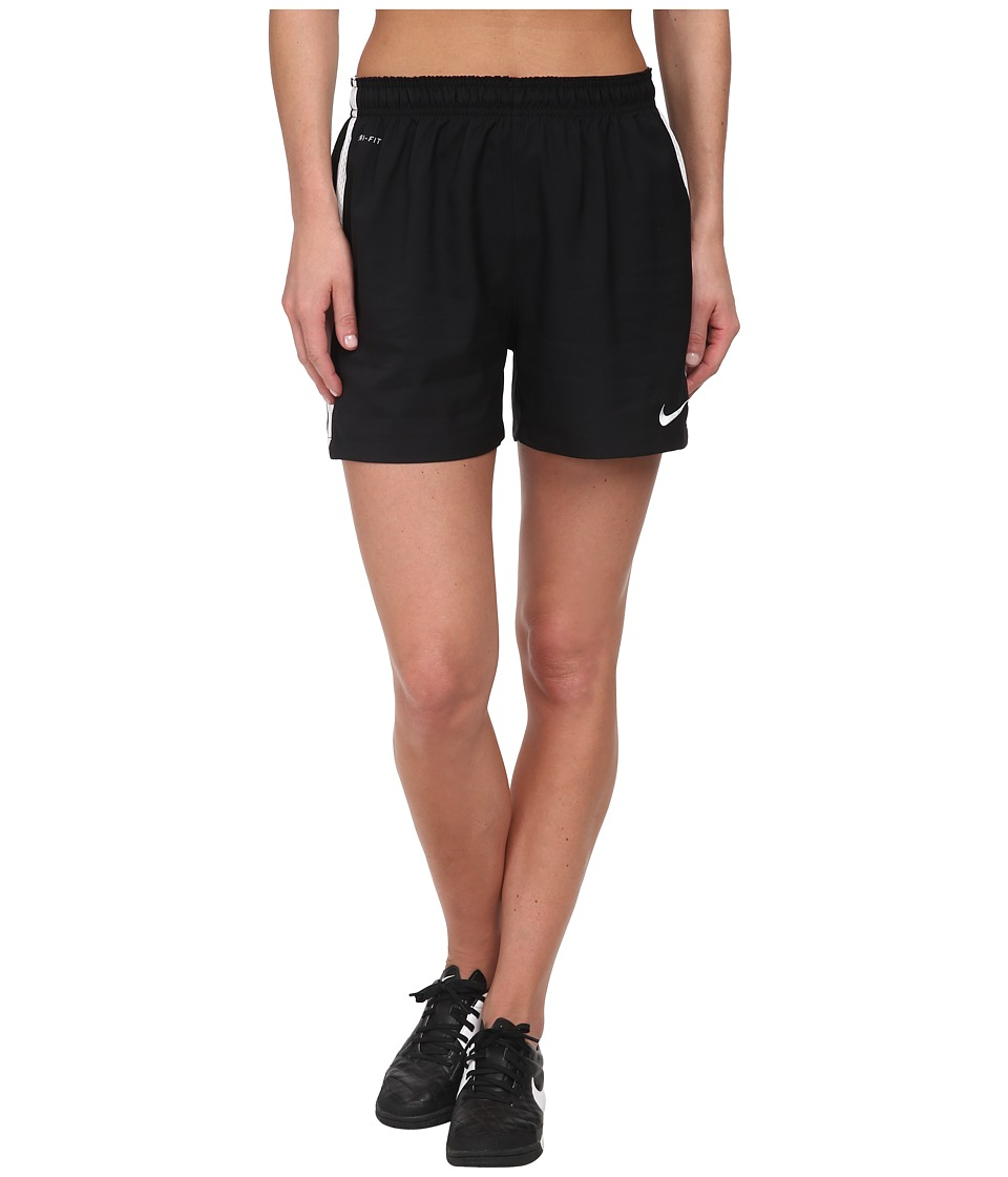 Nike - Dri-FIT Squad Woven Short (Black/White/White) Women's Shorts