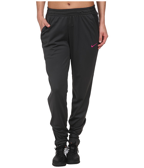Nike - Dri-FIT Soccer Knit Pant (Anthracite/Anthracite/Fuchsia Flash) Women's Casual Pants