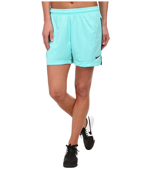 Nike - Dri-FIT Academy Knit Shorts (Light Aqua/Ink/Ink) Women's Shorts