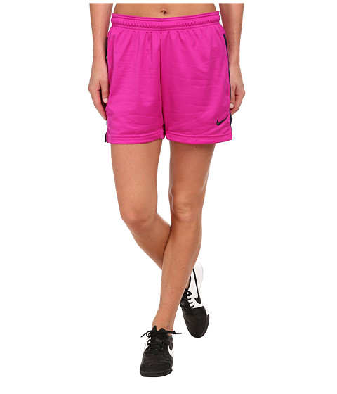 Nike - Dri-FIT Academy Knit Shorts (Fuchsia Flash/Ink/Ink) Women's Shorts