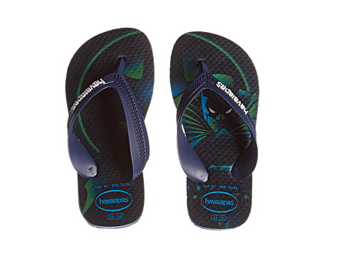 Havaianas Kids - Max Heroes (Toddler/Little Kid/Big Kid) (Navy/Blue) Boys Shoes